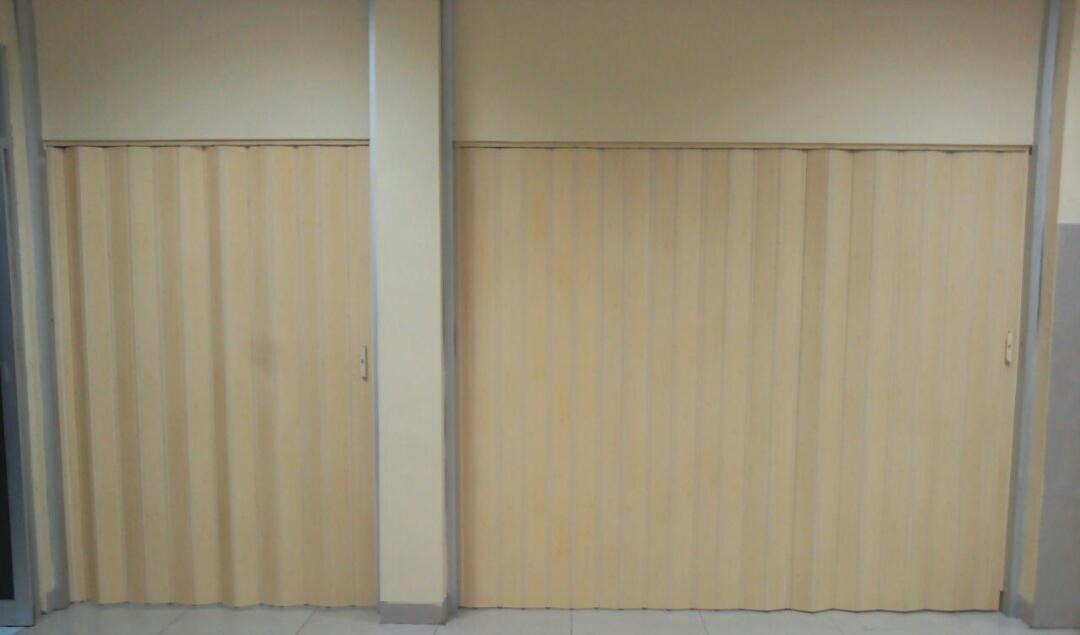 Promo Folding Door PVC Rp 1.150.000/mtr